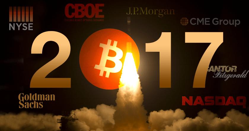 bitcoin rise in 2017