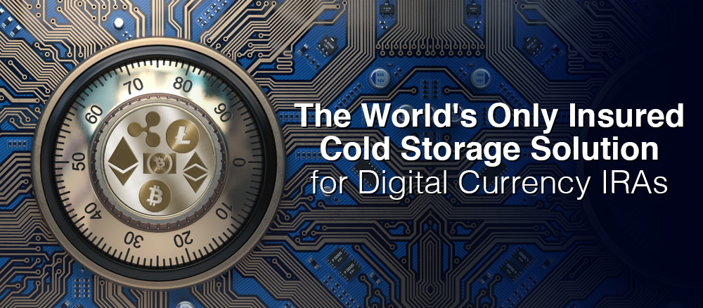World's Only Insured Cold Storage Solution for Bitcoin IRAs