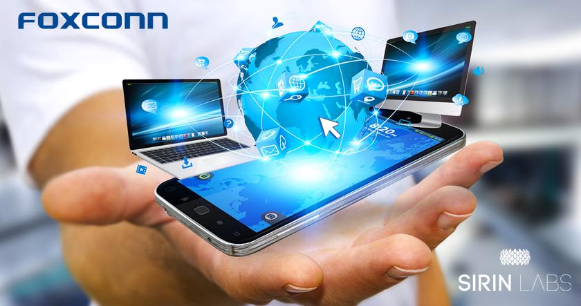Blockchain smartphone foxconn