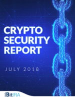 Cover for Crypto Security Report, July 2018