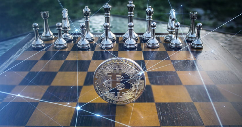 Chessboard and Bitcoin