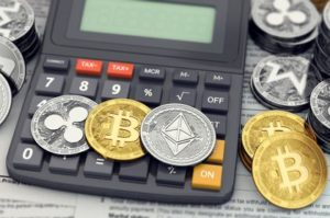 Cryptocurrency and calculator