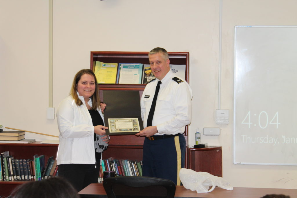 West Point Awards BitIRA Certificate of Achievement