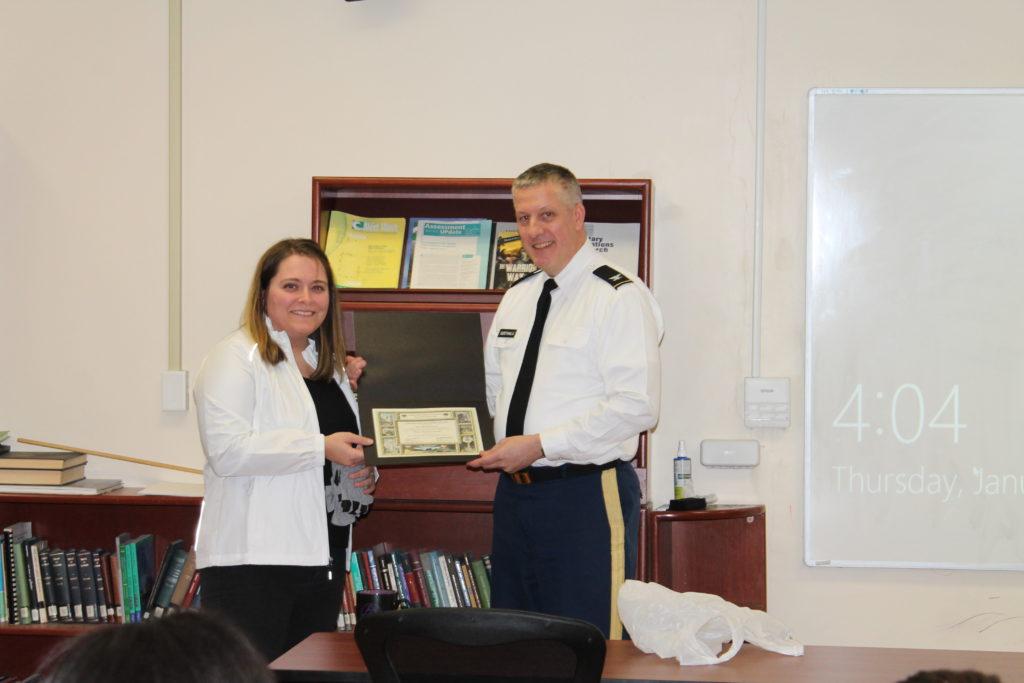 West Point Awards BitIRA Certificate of Achievement