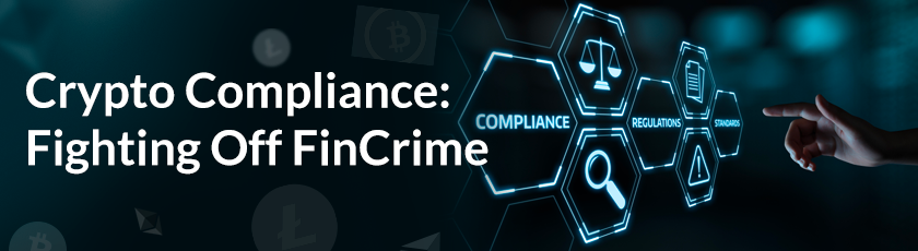 Crypto Compliance Fighting Off Fin Crime image