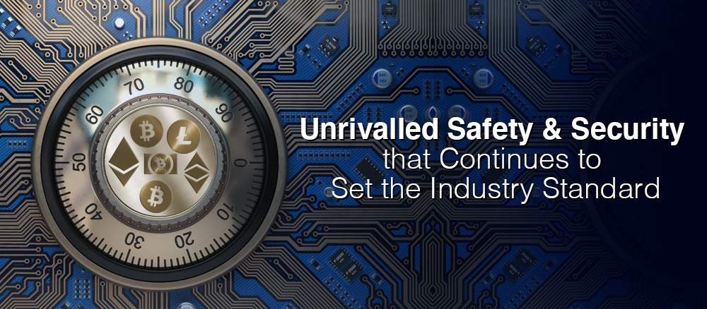 Unrivalled safety and security that continues to set the industry standard